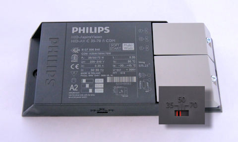 philips multiwatt lightstorm